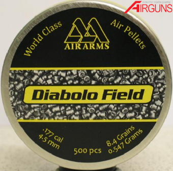 Air Arms Diabolo Field Pellets (.177)